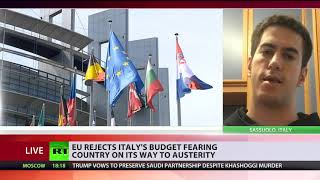 Paving way for sanctions: EU rejects Italy budget - RUSSIATODAY