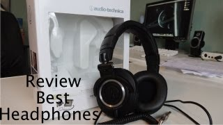 THE Professional Audio Technica ATH-M50 Review!