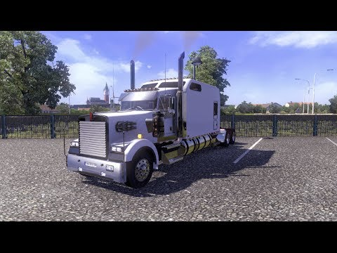 Kenworth Long Edition v2.0 I Euro Truck Simulator 2 Mods I ETS 2 a l'américaine !