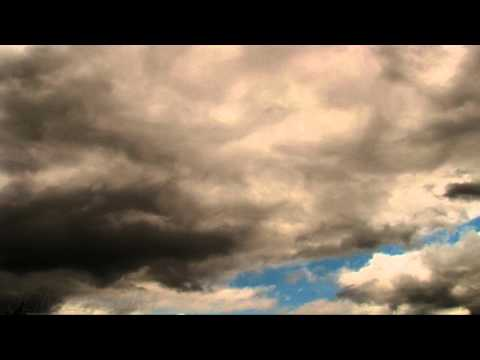Multi-layer cumulus dark clouds timelapse HD V09361