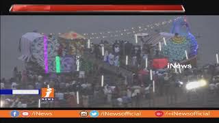 భద్రాద్రిలో కన్నుల పండుగగా తెప్పోత్సవం | Teppotsavam Starts at Bhadradri | Khammam | iNews - INEWS