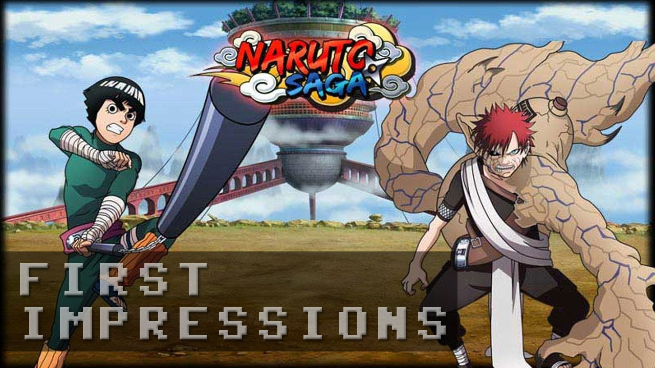Naruto Saga Gameplay | First Impressions HD