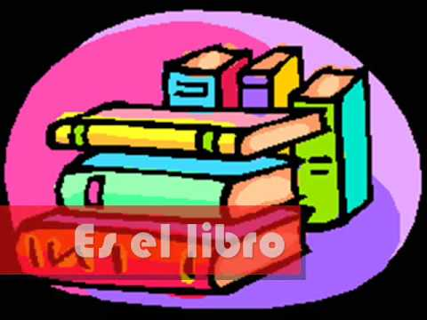 La mochila - Spanish school supply vocabulary      - YouTube