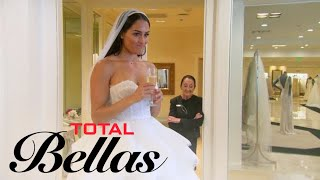 Nikki Bella Doesn't Feel Right Trying on Wedding Dresses | Total Bellas | E! - EENTERTAINMENT