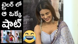 Nidhhi Agerwal About Her Character In Savyasachi | TFPC - TFPC