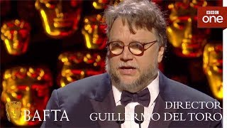 Guillermo Del Toro wins Best Director BAFTA - The British Academy Film Awards: 2018 - BBC One - BBC