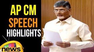 AP CM Chnadrbabau Naidu Speech To Break With BJP Party   Mango News - MANGONEWS