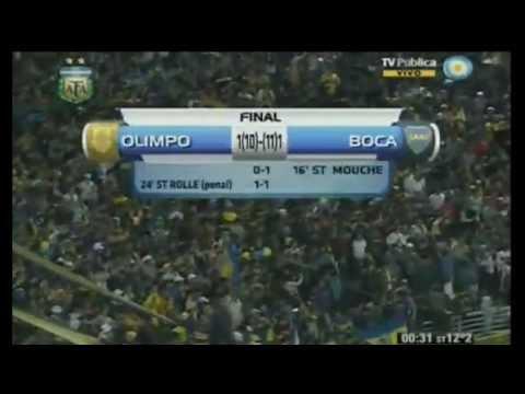 Olimpo 1(10) (11) 1 Boca Jrs - Copa Argentina 2012 8vos de Final