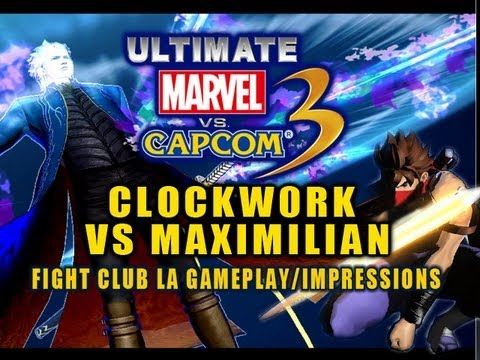 UMVC3: Clockw0rk vs Maximilian - Fight Club LA Impressions and Gameplay