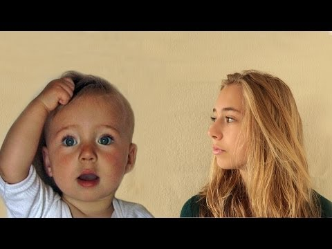 Incredible Timelapse Video Of Girl Aged 0-14