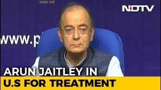 "Arun Jaitley, In US For Treatment, Attacks ""Compulsive Contrarians"" - NDTV"