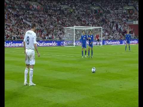 England 5 1 Kasakhstan VM 2010 kvalifiseringskamp