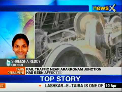 Tamil Nadu: One dead, 50 injured in rail derailment near Arakkonam