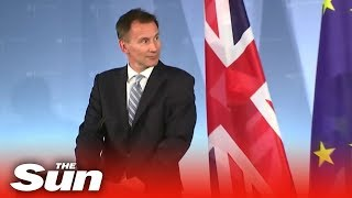 Jeremy Hunt on his Germany 'friendship visit' - THESUNNEWSPAPER