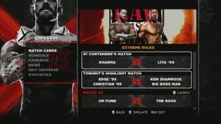 WWE '13 Universe Mode - Episode 59 - NO DQ EXTREME RULES