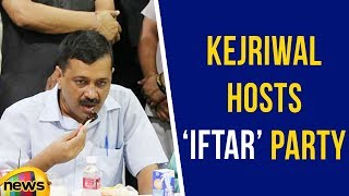 Delhi CM Arvind Kejriwal Hosts Iftar party | Delhi Iftar Party Special | Mango News - MANGONEWS