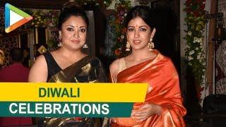 Tanushree Dutta & Ishita Dutta's Diwali Celebrations - HUNGAMA