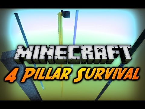 "Minecraft: ""Accidental Mob Spawner"" - 4 Pillar Survival w/ CavemanFilms - Ep. 5"