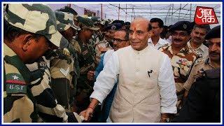 गृह मंत्री Rajnath Singh जम्मू-कश्मीर में ले रहे सुरक्षा व्यवस्था का जायज़ा - AAJTAKTV