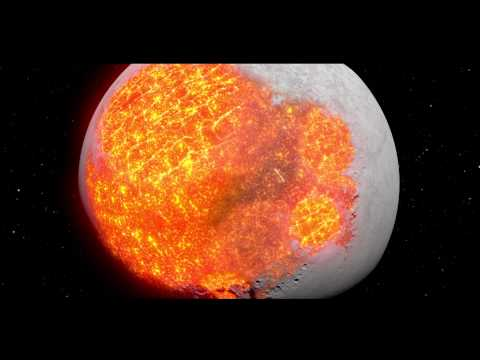 4500 millones de aos de nuestra Luna en 3 minutos [Video]