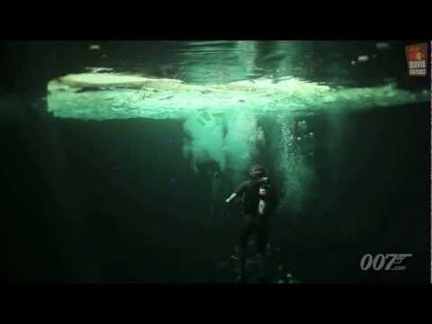Skyfall James Bond 007 | underwater featurette (2012) Daniel Craig Javier Bardem