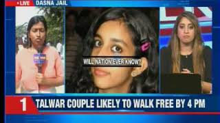 Talwar couple likely to walk free by 4PM; will vist Sai Mandir after release - NEWSXLIVE