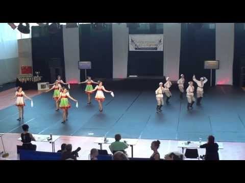 Esteetika - ja Tantsukool - Dance Festival Golden Cup 2013 - Character Dance Adults Group - Final