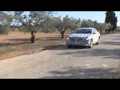 Mercedes Classe E - video spia