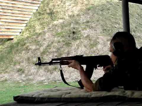 Strzelanie z AKM
