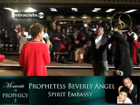 Prophet Beverley Uebert Angel - Prophetic Moment at Spirit Embassy Harare