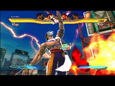 Vega Character Demo - Street Fighter X Tekken