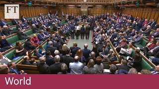 Theresa May suffers Commons defeat on Brexit plan B - FINANCIALTIMESVIDEOS