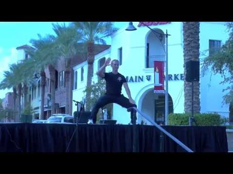 Tai Chi Demonstration.  Chen style and Yang style.  Jake Mace