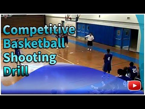 Winning Basketball - Competitive Shooting Drill - Coach Joe Wootten