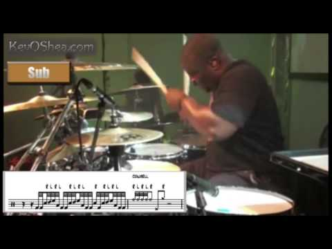 Best Drum Lesson | Chris Coleman 32nd note Drum Fill