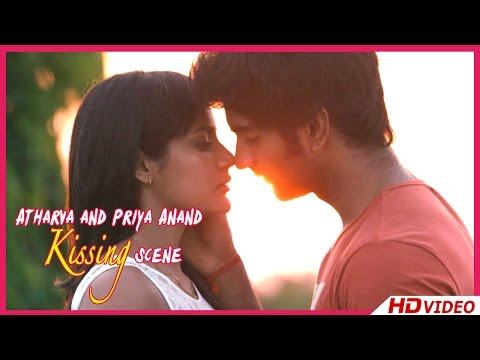 Irumbu Kuthirai Tamil Movie - Atharva and Priya Anand Kissing Scene