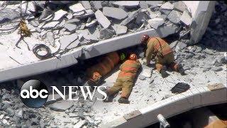 Investigation continues in Miami bridge collapse - ABCNEWS