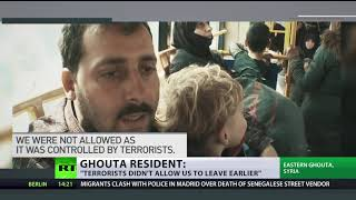15,000 people escape rebel-held Ghouta through Russian evacuation routes branded 'joke-like' by US - RUSSIATODAY