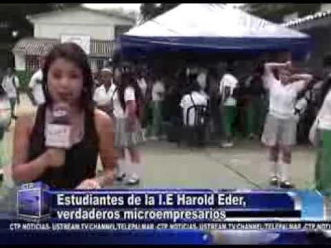 PALMIRA  - IE HAROLD EDER REALIZA SU MUESTRA EMPRESARIAL CON GRAN ÉXITO