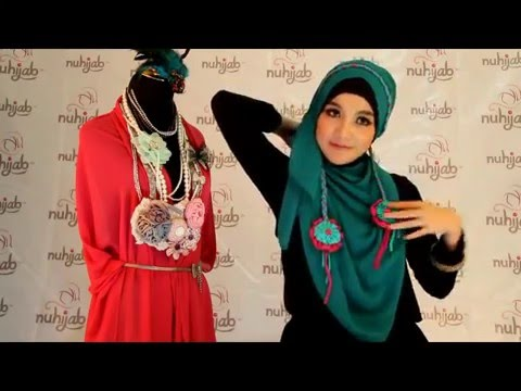 Tutorial Hijab PS2 (Plain Shawl Sifon) - Deep Toska ala Nuhijab #2