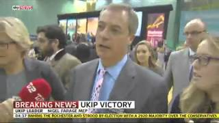 Nigel Farage: 'I'm Off For A Pint!' - SKYNEWS
