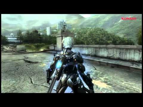 Metal Gear Rising Revengeance gameplay trailer E2 2012 -UM51gQRJ5bk