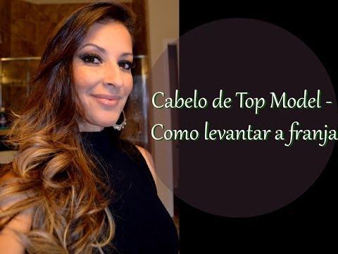 CABELOS DE TOP MODEL - COMO LEVANTAR A FRANJA