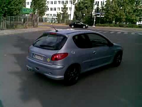 Peugeot 206 S16 Turbo - road test #2