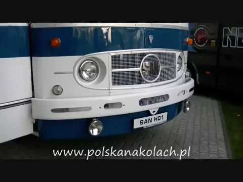 San H01, Autosan H9-15 - zabytkowe autobusy na targach TransEXPO 2012