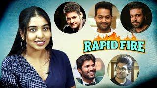 Rapid Fire with Dorasaani Shivatmika Rajasekhar || Mahesh Babu || Jr NTR || Ram Charan || Allu Arjun - IGTELUGU