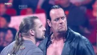 WWE Wrestlemania 27 The Undertaker vs. Triple H Promo