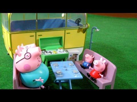 Peppa Pig Camper Van Playset Bandai
