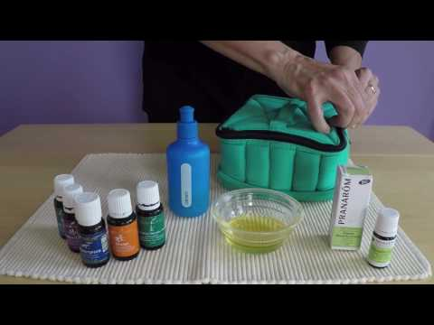 Aromatherapy - Making an Essential Oil Massage Blend-Video 2