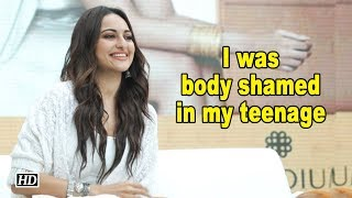 I was body shamed in my teenage |  Sonakshi Sinha - IANSINDIA